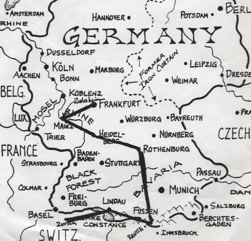 germany-honeymoon-map