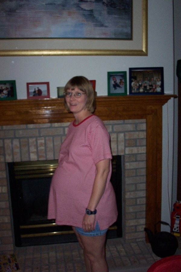 Esther Pregnant with Zane - Arvada CO