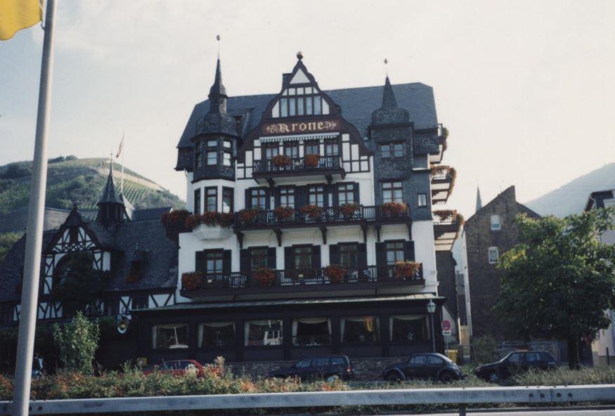 Honeymoon Dinner Near Hotel Krone, Assmannshausen Germany