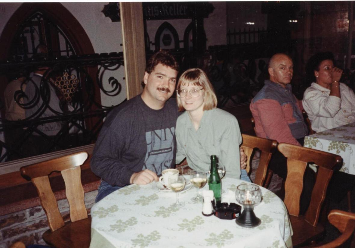 Steve & Esther on Honeymoon in Germany