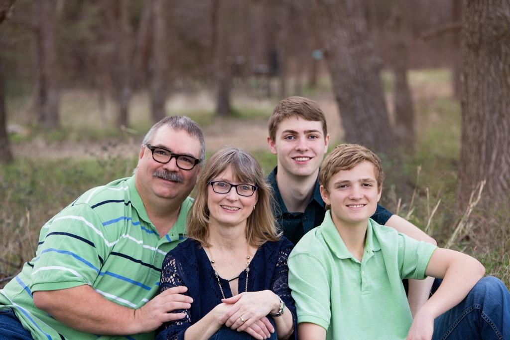 Parker Family Photo 2016